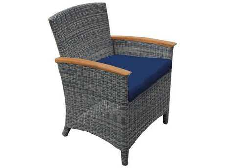 Three Birds Casual Bella Wicker Dining Armchair - FRAME ONLY