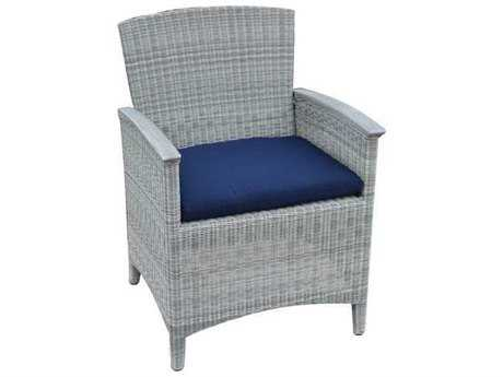 Three Birds Casual Bella Wicker Dining Armchair with cushion