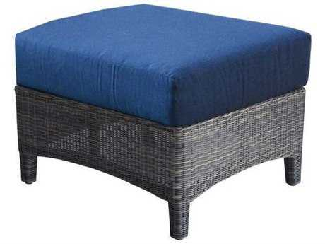 Three Birds Casual Bella Wicker Ottoman