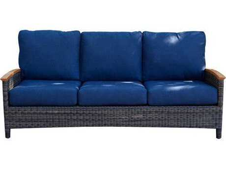 Three Birds Casual Bella Deep Seating Wicker 3-Seater Sofa