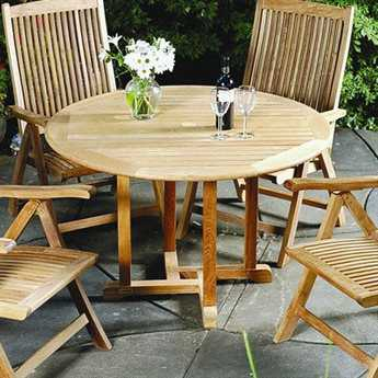 Three Birds Casual Braxton Teak Bistro Dining Set