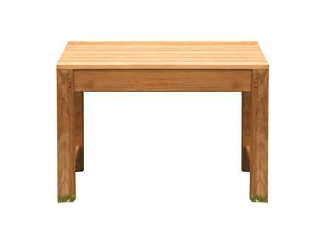 Three Birds Casual Charleston Teak Backless Bench 2 feet