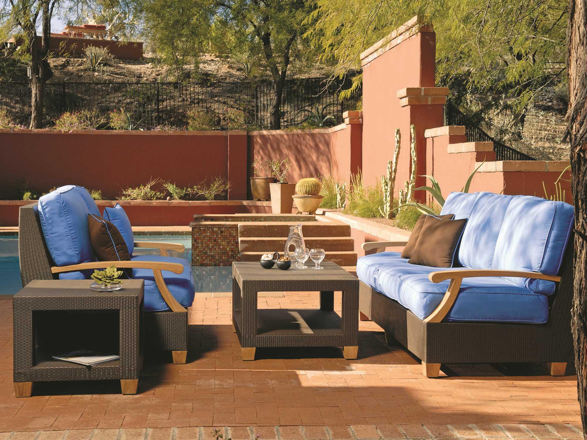 Phenomenal Three Birds Casual Ciera Wicker Lounge Set Inzonedesignstudio Interior Chair Design Inzonedesignstudiocom