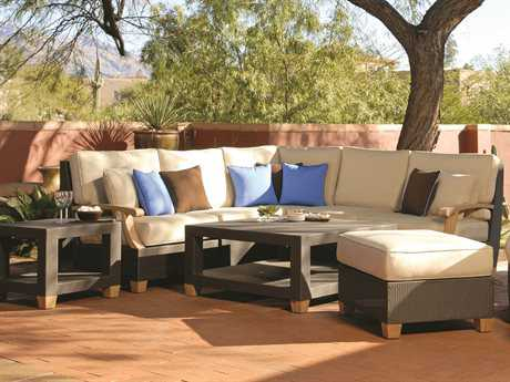 Three Birds Casual Ciera Wicker Lounge Set