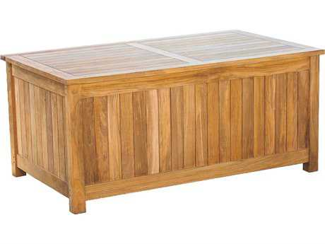 Three Birds Casual Charleston Teak Cushion Box