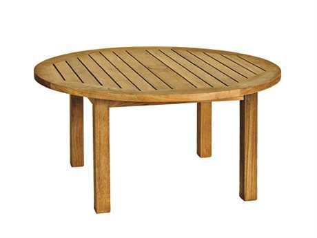 Three Birds Casual Canterbury Teak 36 Round Coffee Table PatioLiving