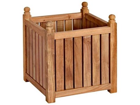 Three Birds Casual Teak Small Flower Box