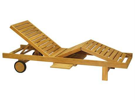 Three Birds Casual Teak Quincy Lounger