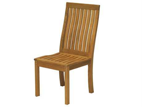 Three Birds Casual Monterey Teak Dining Side Chair TBMT06