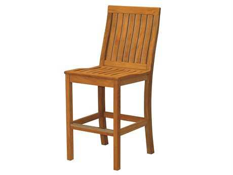 Three Birds Casual Monterey Teak Bar Chair