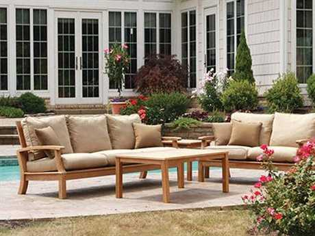 Three Birds Casual Monterey Teak Lounge Set