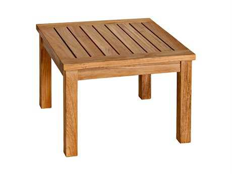Three Birds Casual Newport Teak 20 Square Low Side Table
