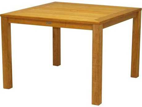 Three Birds Casual Newport Teak 42 Square Dining Table