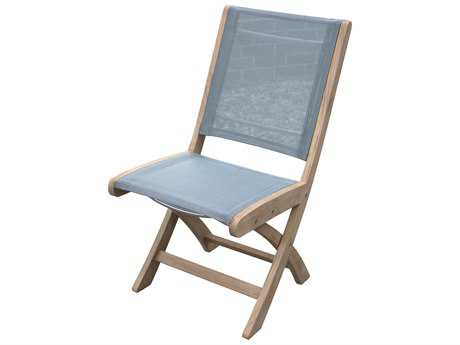 Three Birds Casual Riviera Teak Folding Side Chair