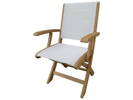 Three Birds Casual Riviera Teak Folding Armchair