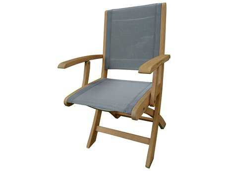 Three Birds Casual Riviera Teak Folding Armchair TBRV20N