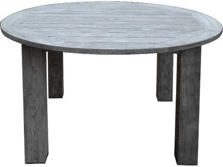 Three Birds Casual Shelburne Teak 50 Round Dining Table