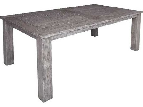 Three Birds Casual Shelburne Teak 74 x 40 Rectangular Dining Table
