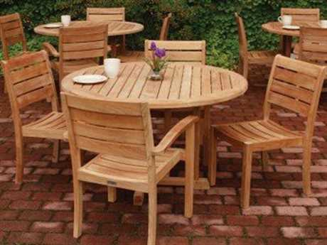 Three Birds Casual Sedona Teak Dining Set PatioLiving