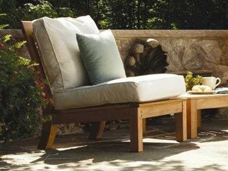 Three Birds Casual Classic Teak Conversation Cushion Lounge Set