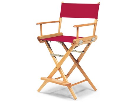 Telescope Casual World Famous Director Chair Wood - Counter Height / Standard Canvas