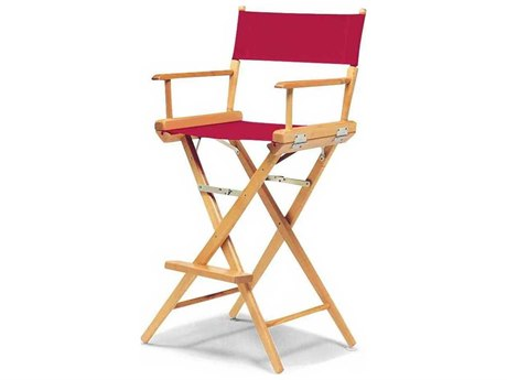 Telescope Casual World Famous Director Chair Wood - Bar Height / Standard Canvas