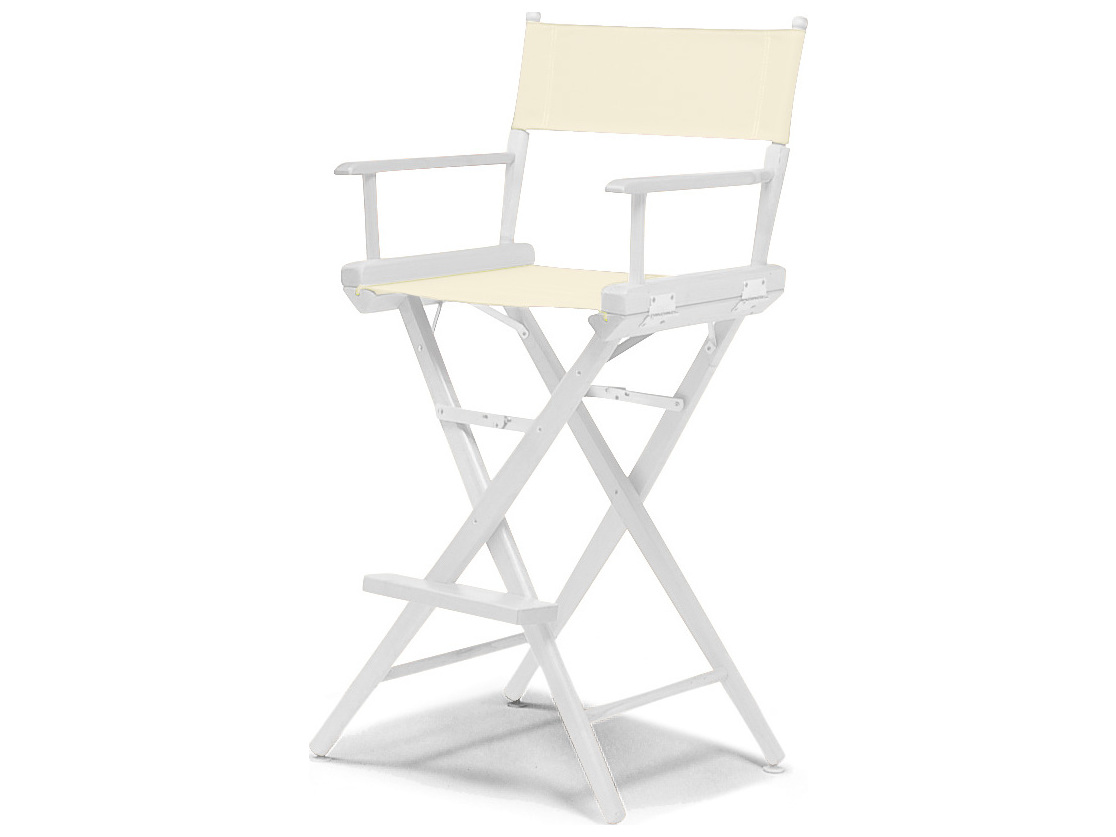 Telescope Casual World Famous Director Chair Wood Bar Height Heavyweave Mesh Tc15507rec