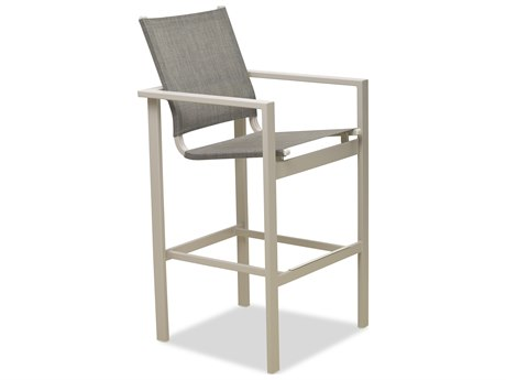 Telescope Casual Tribeca Sling Aluminum Bar Stool
