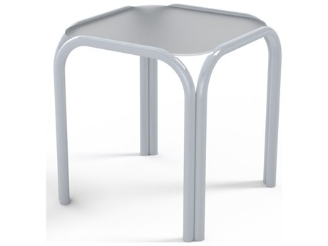 Telescope Casual Obscure Acrylic Top 17''Wide Square End Table