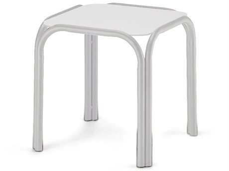 17'' Square Marine Grade Polymer Top End Table