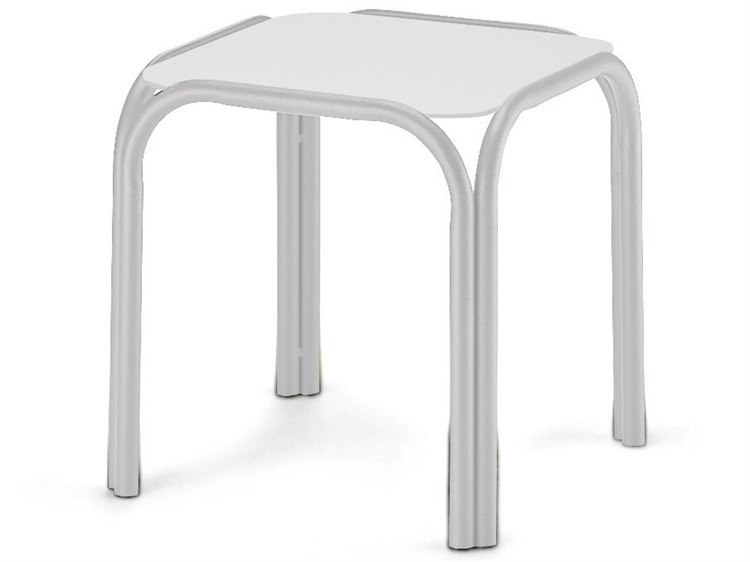 Telescope Casual Marine Grade Polymer Top 17 Square End Table