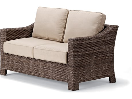 Telescope Casual Lake Shore Wicker Loveseat