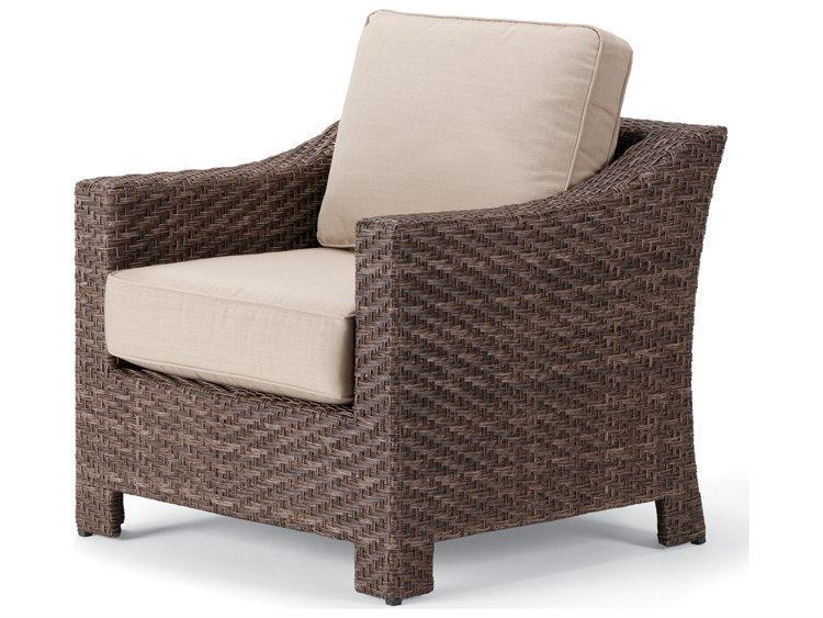 Telescope Casual Lake Shore Wicker Lounge Chair