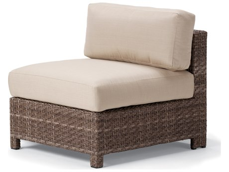 Telescope Casual La Vie Sectional Wicker Armless Chair