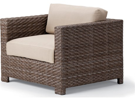 Telescope Casual La Vie Sectional Wicker Arm Chair