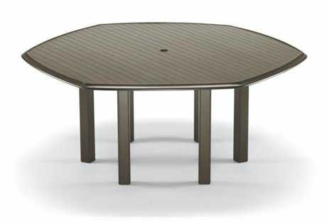 Aluminum Slat Top Tables