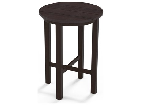 Telescope Casual Marine Grade Polymer 21'' Wide Round End Table
