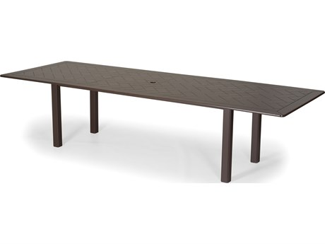 Telescope Casual Marine Grade Polymer 120 x 42 Rectangular Extension Dining Table