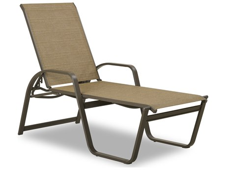 Telescope Casual Aruba Ii Sling Aluminum Stackable Chaise Lounge