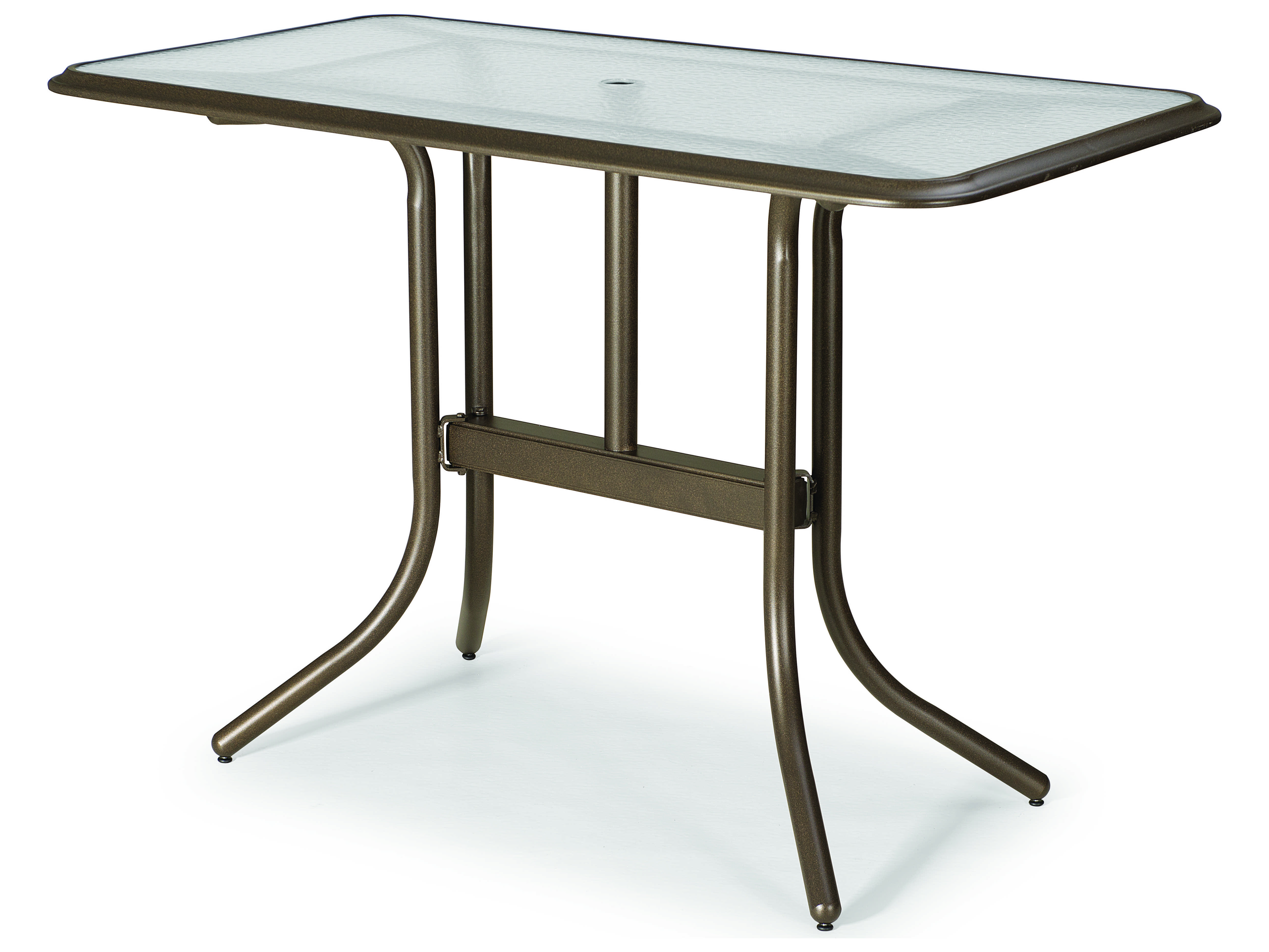 Telescope Casual Top Tables Aluminum Rectangular Patio Bar Table Tc5880bar on Replacement Legs For Ottomans
