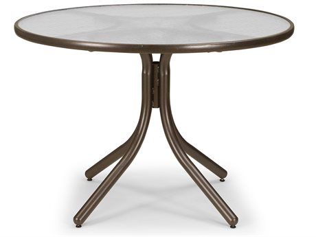 Telescope Casual Glass 42'' Round Chat Height Table