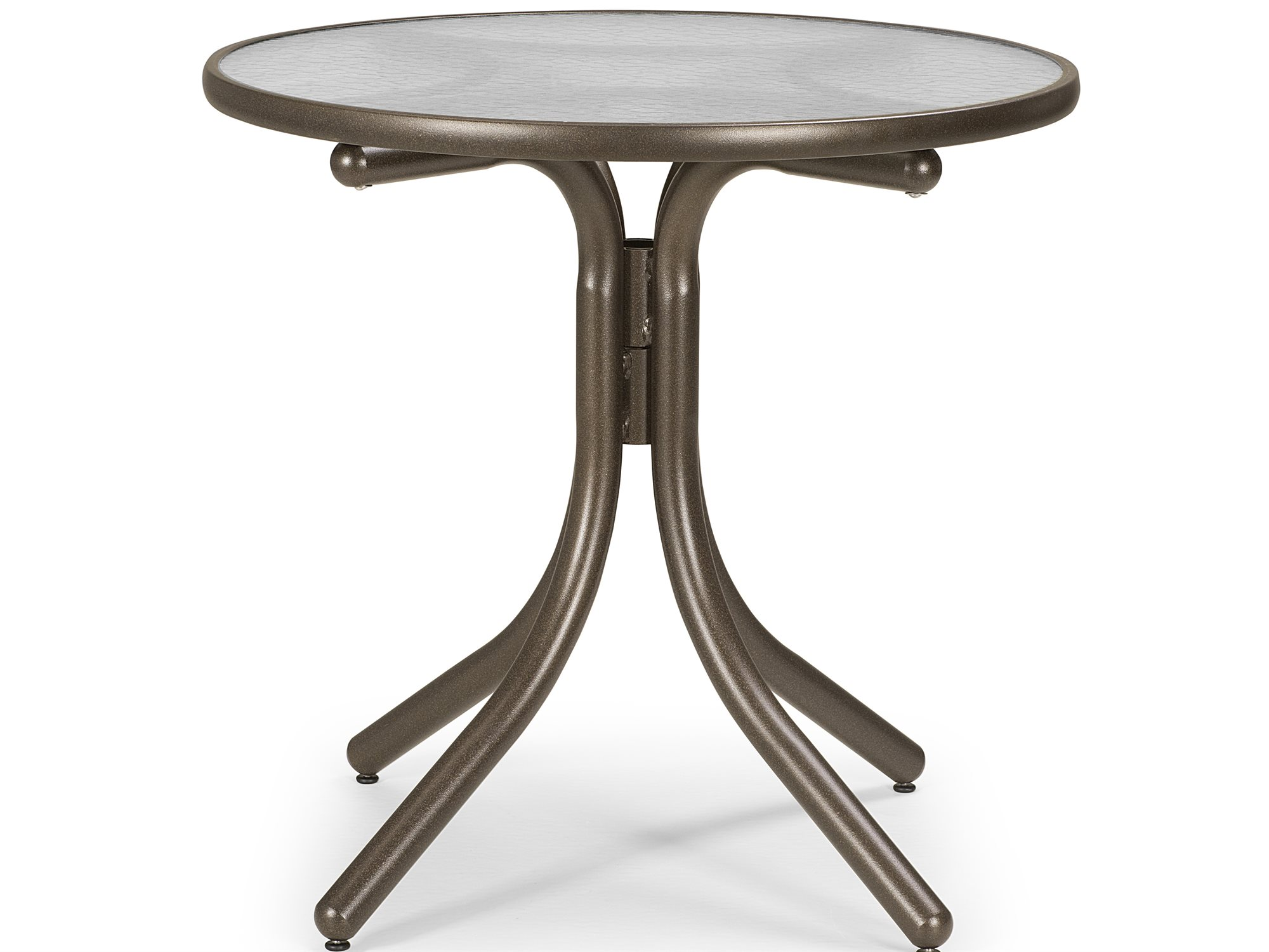 Table Height 36: Telescope Casual Glass 36'' Round Chat Height Table