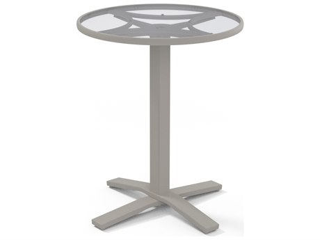 Telescope Casual Glass 30''Wide Round Counter Table