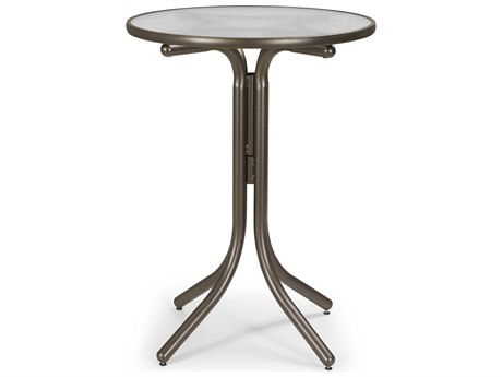 Telescope Casual Glass 30'' Round Bar Height Table