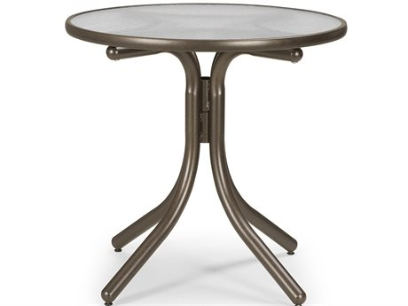 Telescope Casual Glass 30'' Round Chat Height Table