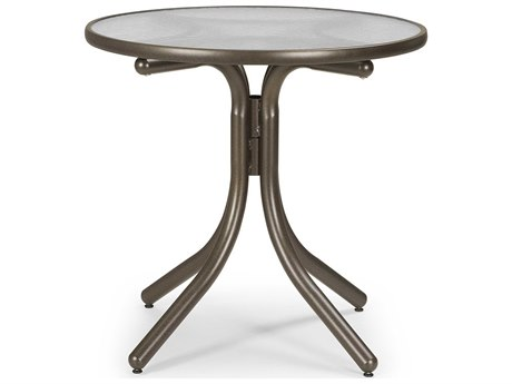 Telescope Casual Glass 30'' Round Dining Height Table