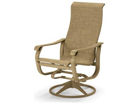 Telescope Casual Villa Sling Supreme Swivel Rocker Dining Chair