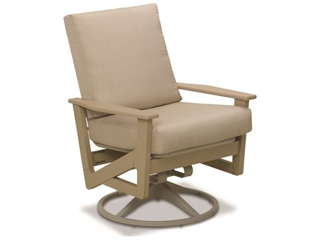 Telescope Casual Wexler Mgp Cushion Recycled Plastic Swivel Rocker Lounge Chair