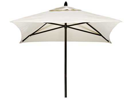 Telescope Casual Commercial Market Aluminum Square 6' Umbrella