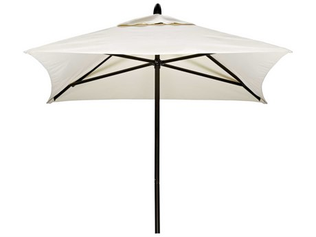 Telescope Casual Commercial Market Aluminum Square 6' Umbrella